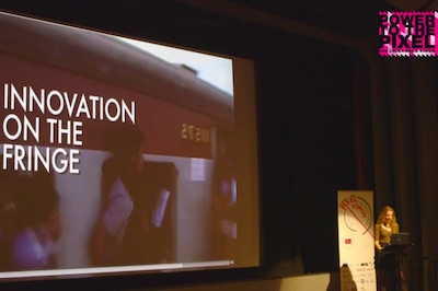 Image of Innovation on the Fringe slide